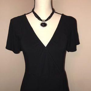 ❤️ Beautiful Banana Republic Black dress.